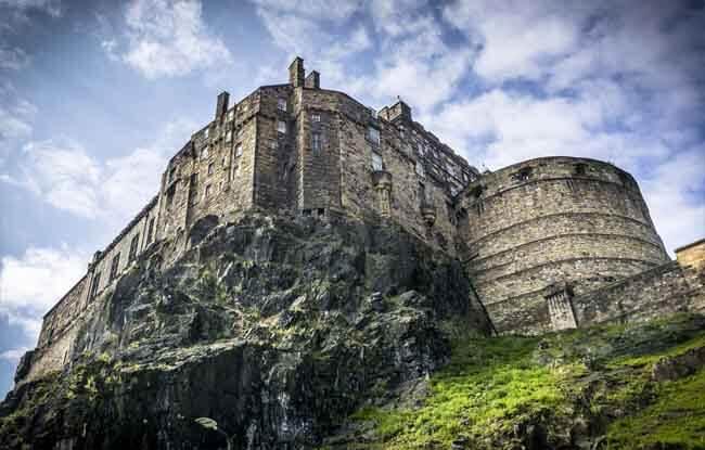 Vista del Castillo de Edimburgo