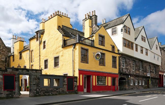 Edificio del Museo de Edimburgo