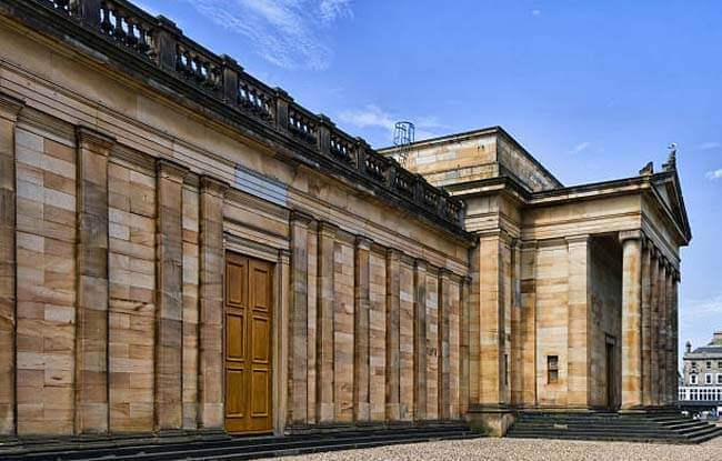 Edificio de la Galería Nacional de Escocia