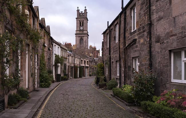 Barrio de Stockbridge