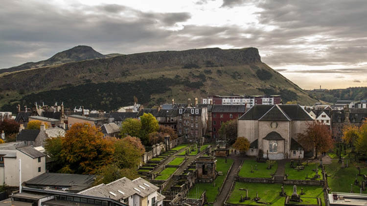 Canongate Kirk and Graveyard
