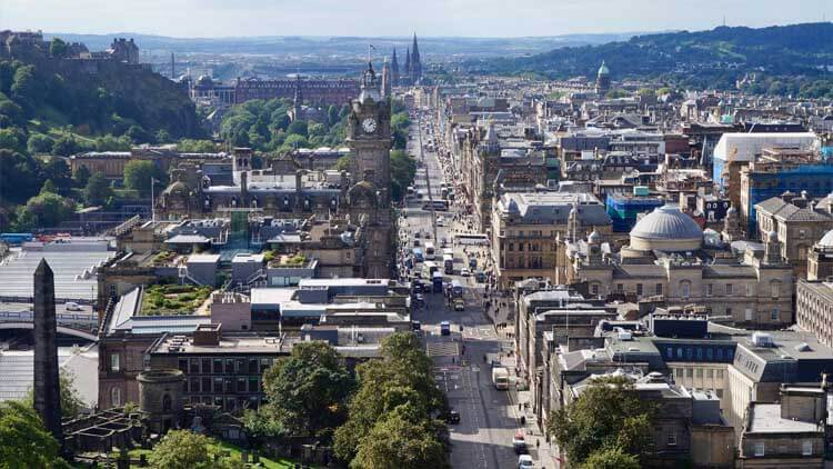 New Town of Edinburgh