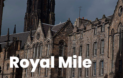 Royal Mile de Edimburgo